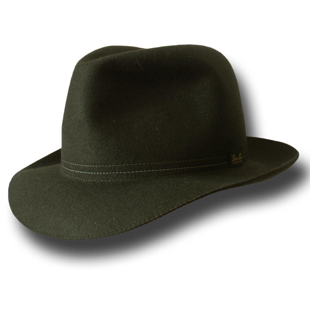 Borsalino Traveller hat rollable Dark Green