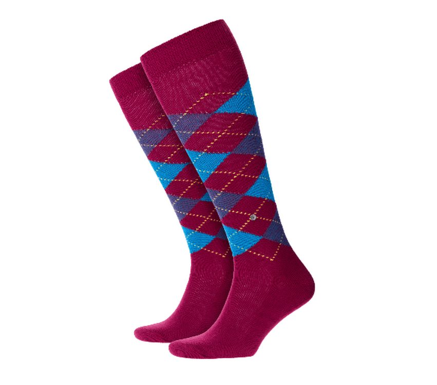 Socks man Preston Burlington Dark Red