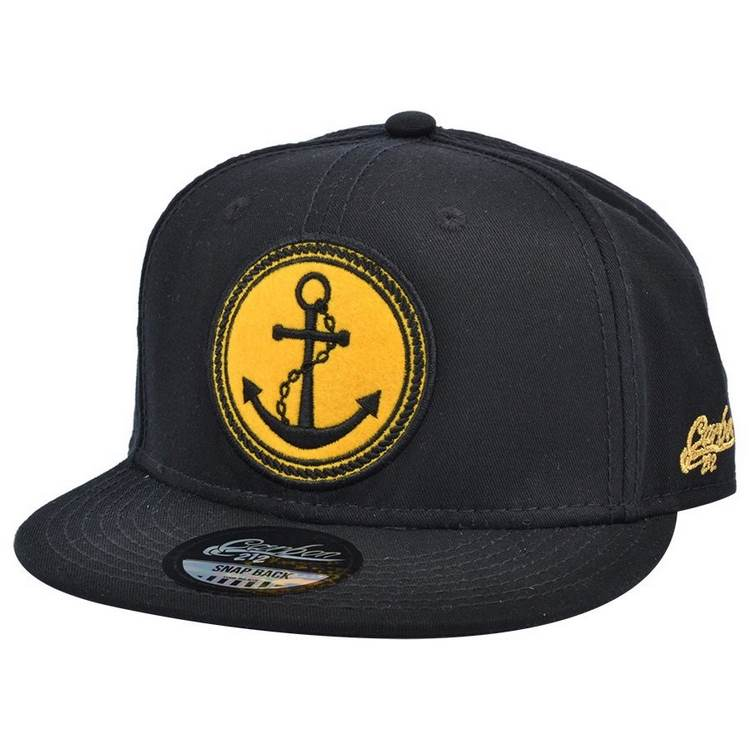 Anchor Snapback Cap