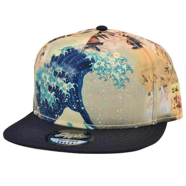 Wave Snapback Barrett