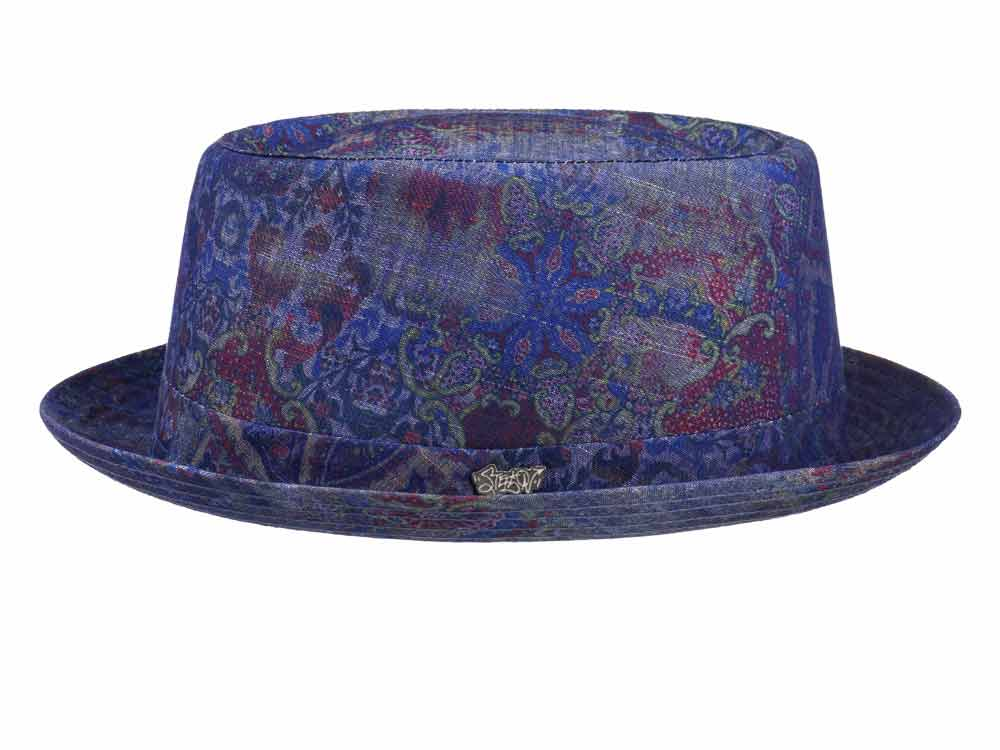 Stetson Cappello pork pie cotone Player Fantas