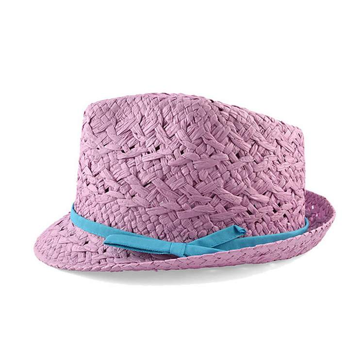 "Cappello donna estivo ""cheap but works"" trilby Lilla"