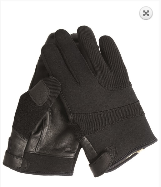 Melegari Neoprene gloves Aramid