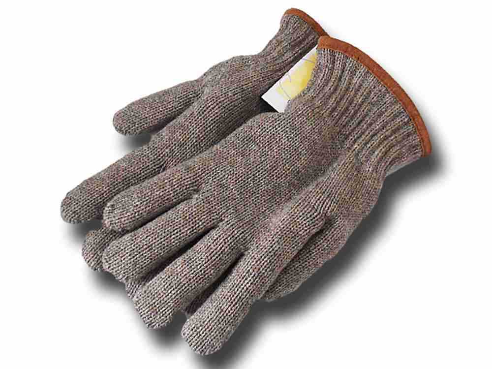 Falkland wool gloves Beige