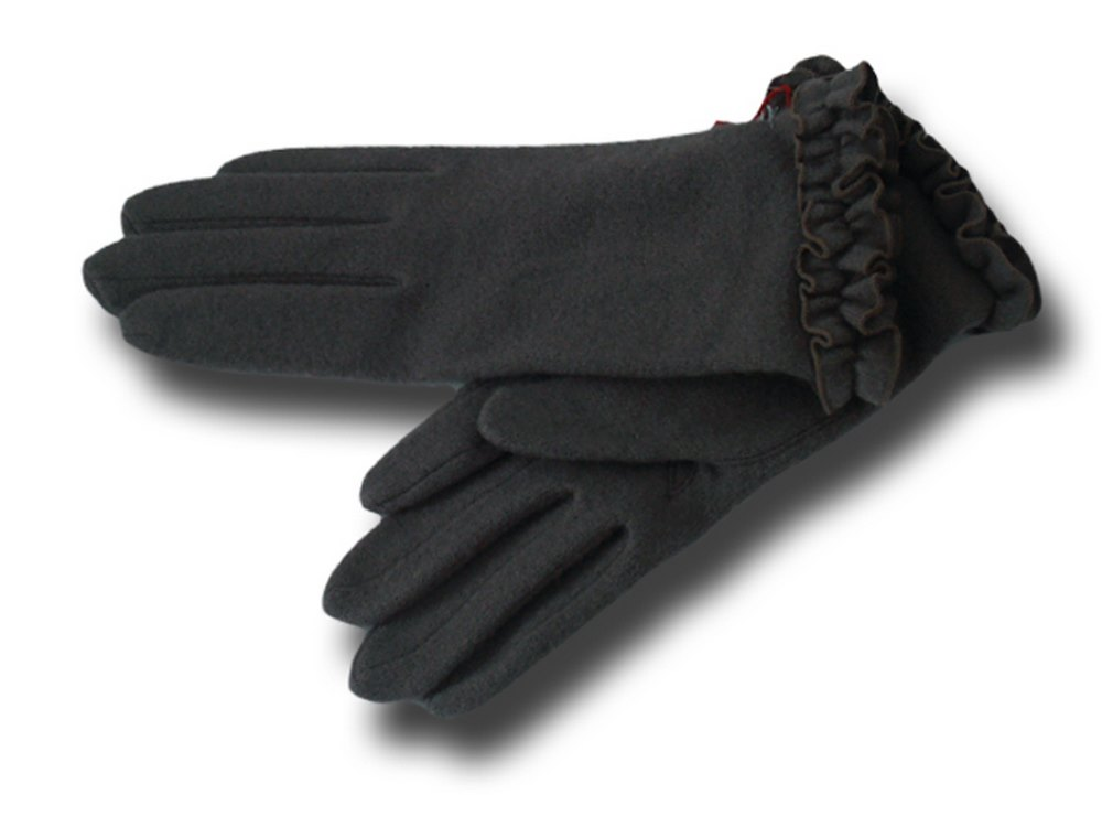 Wool gloves woman Rouge Vincent Pradier Dark g