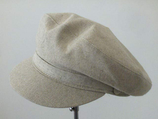 Linen cotton popular seaman summer cap Genova Beige