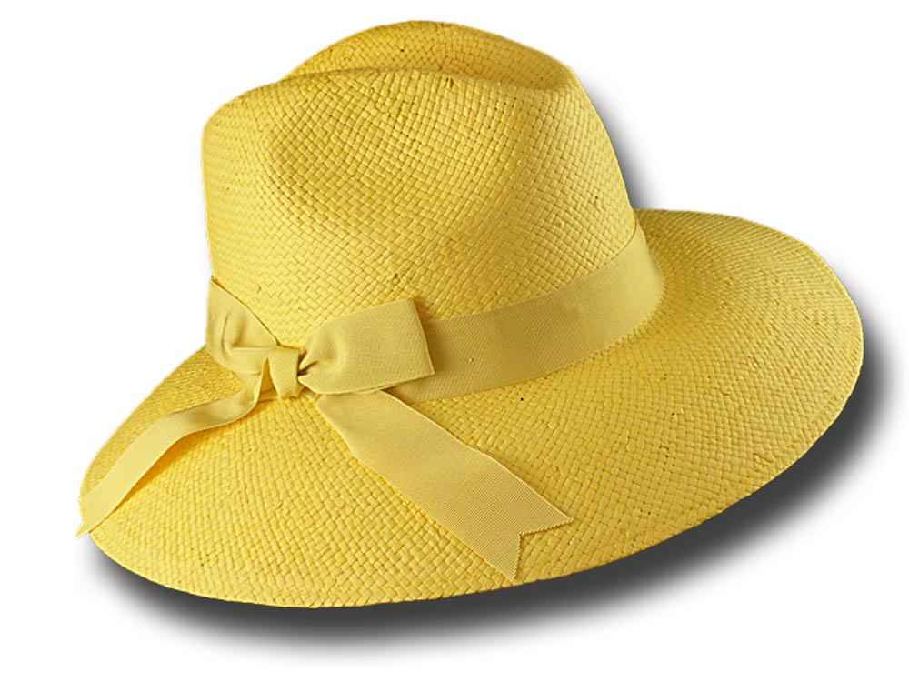 Melegari Summer hat with large brim 9 cm Don G