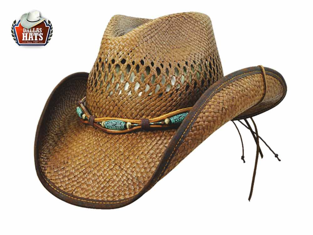 Dallas Hats Western straw hat  Tangled