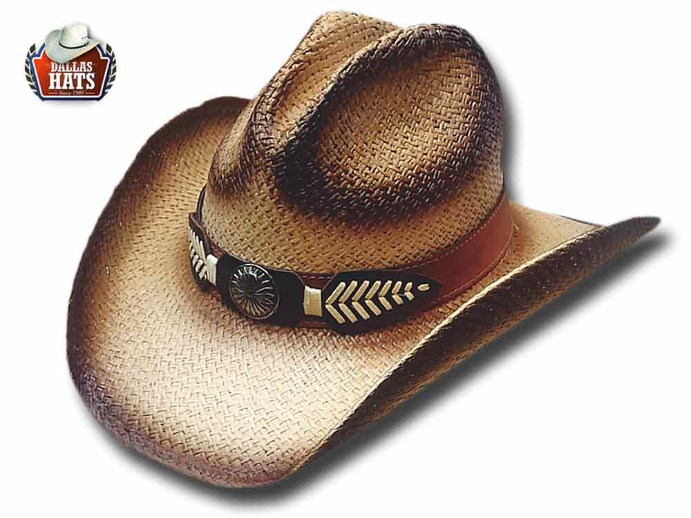 Dallas Hats Western straw hat Cherokee