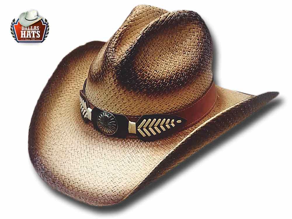 Dallas Hats Cappello Western paglia Cherokee 4b7470c8f211