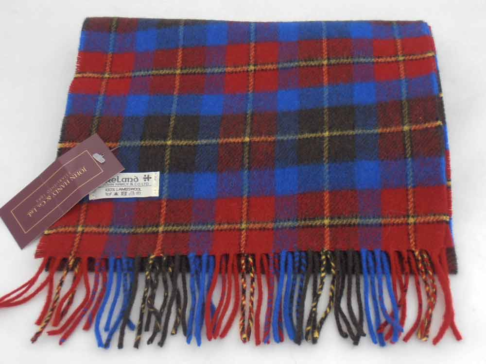 John Hanly Lambswool Irish scarf 23