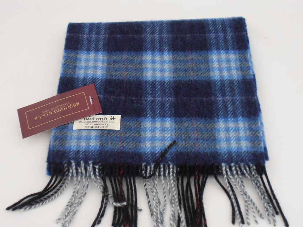 John Hanly Irish Lambswool Tartan Schal 2