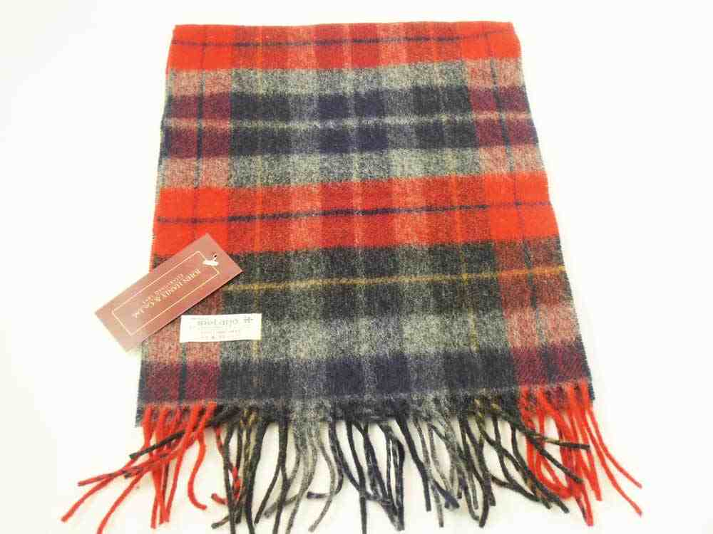 Lambswool Irish scarf J.Hanly ireland 19