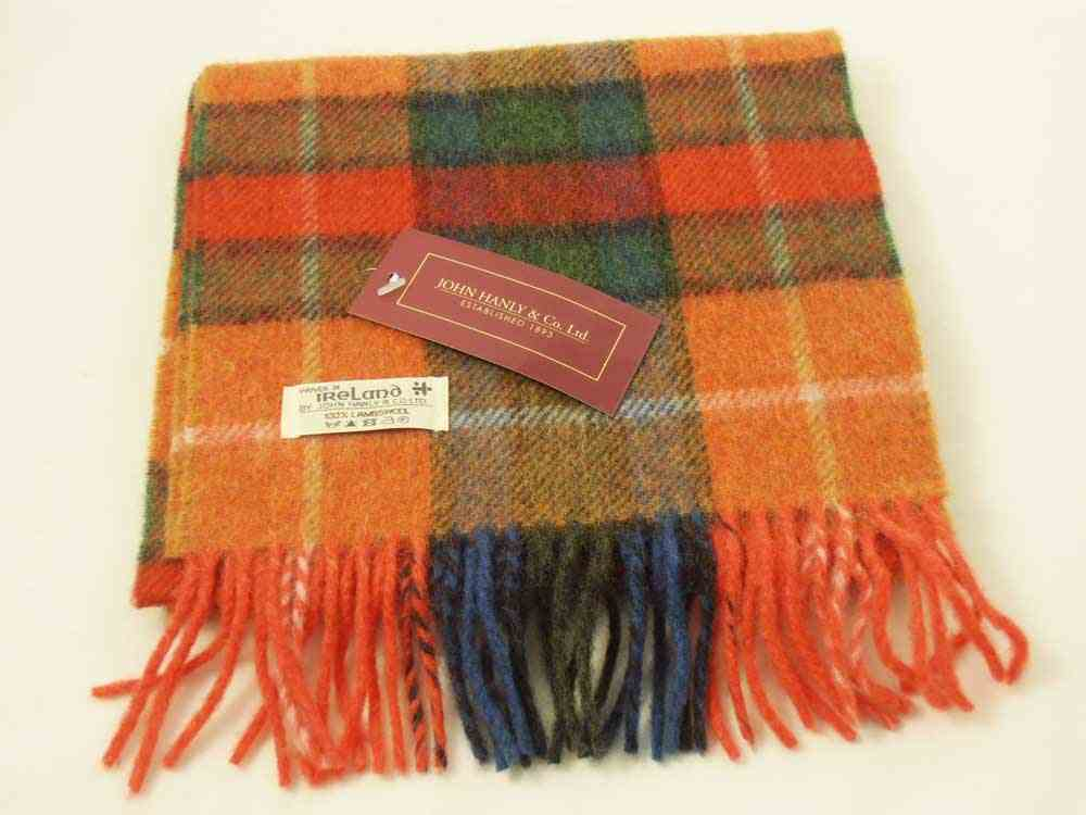 Lambswool Irish scarf J.Hanly ireland 30