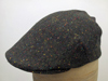Flat cap Curragh Irish tweed green