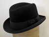 Homburg wool felt hat