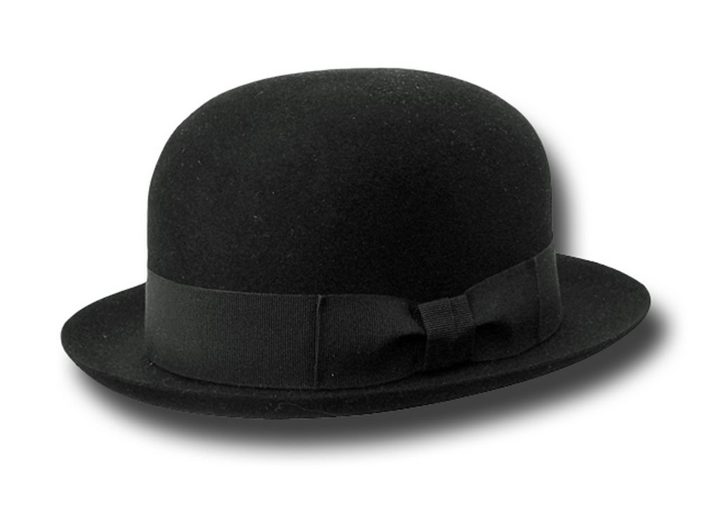 Top quality fur felt soft Latin bowler hat