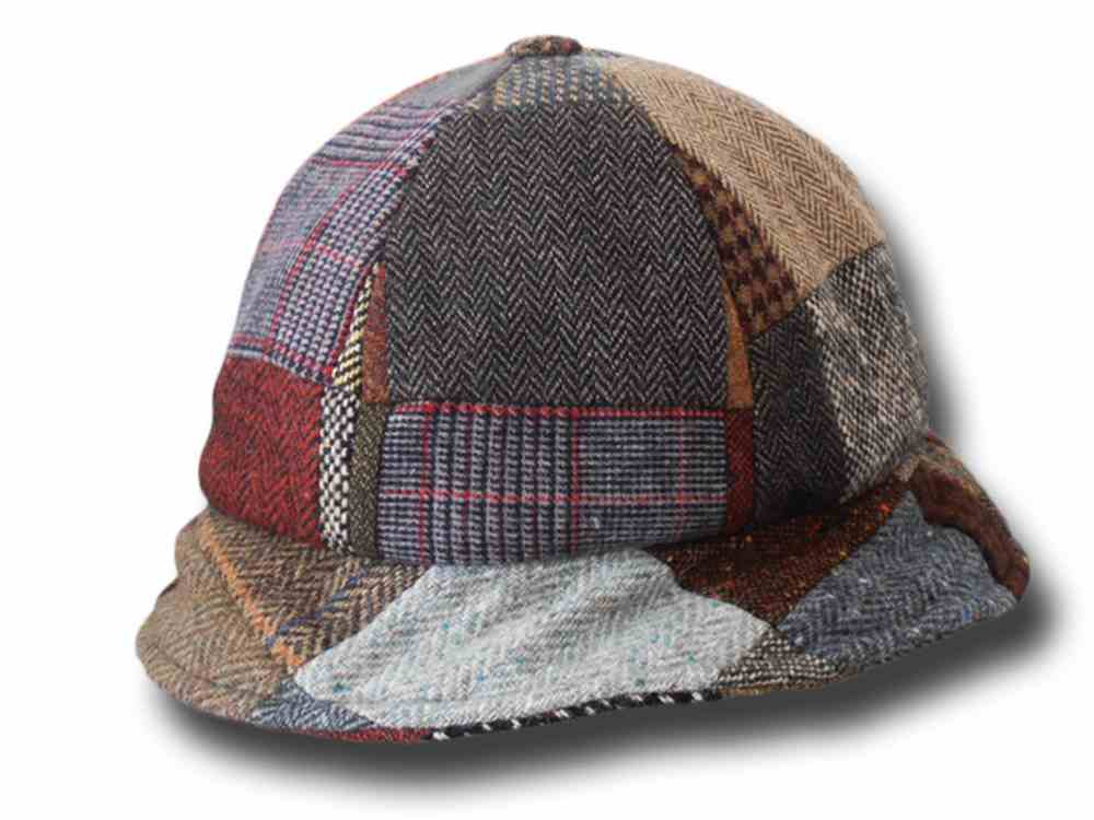 cloche patchwork irish hat Hanna Hats