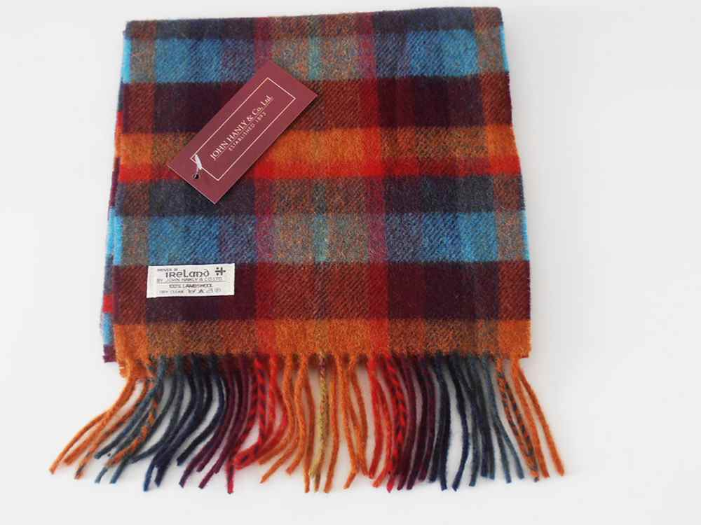 Lambswool Irish scarf J.Hanly ireland 33