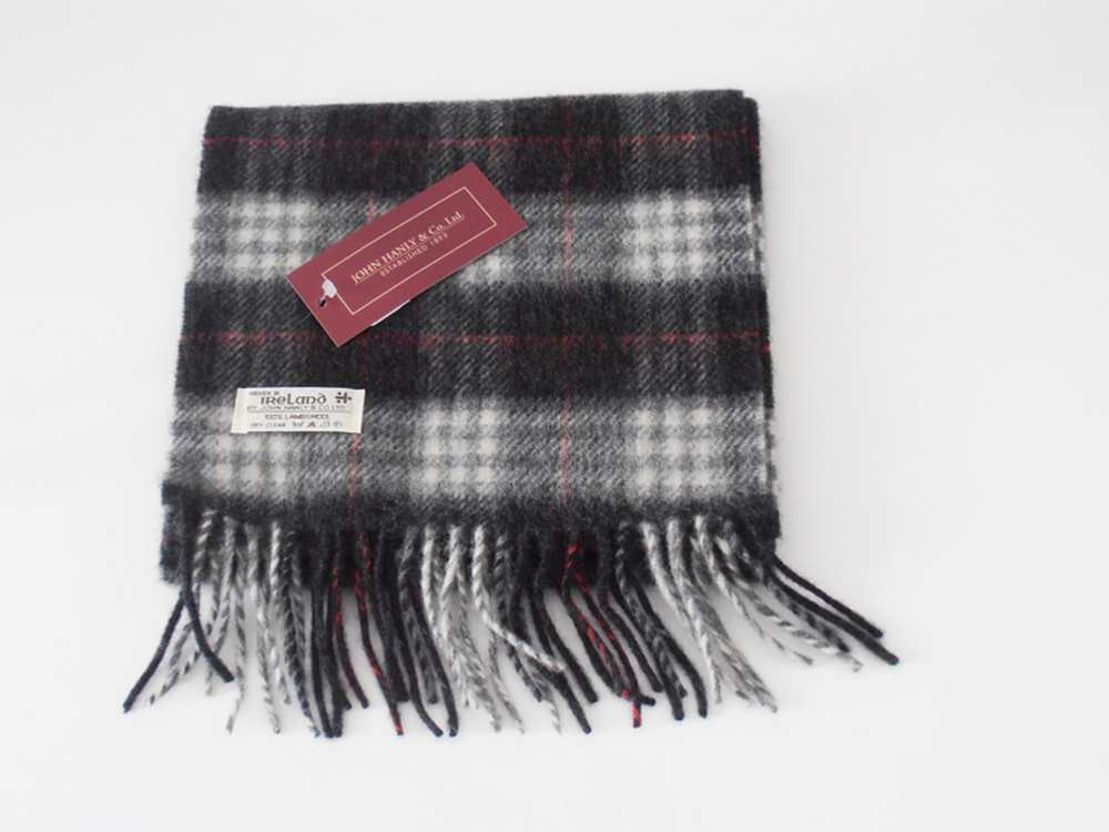 John Hanly Lambswool Irish scarf 14