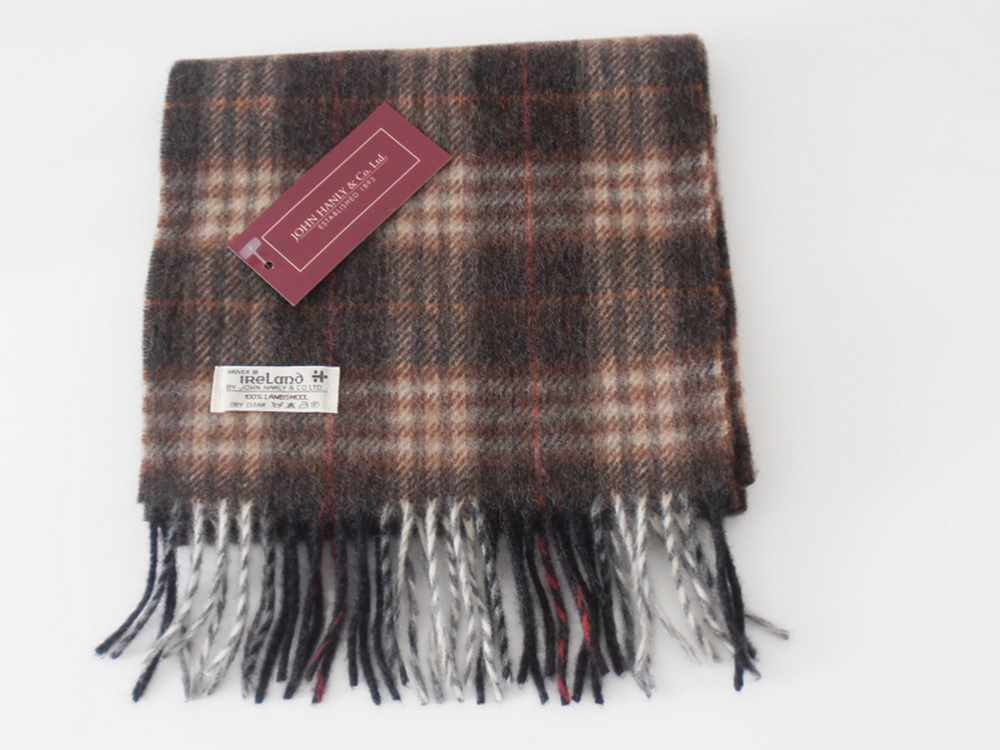 Lambswool Irish scarf J.Hanly ireland 29