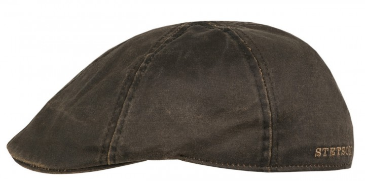 Stetson Berretto cotone Duck cap Level Marrone