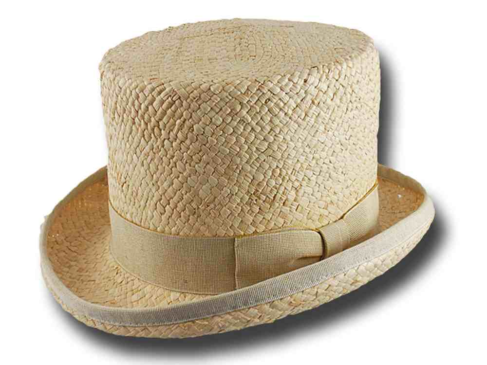 Corn straw top hat