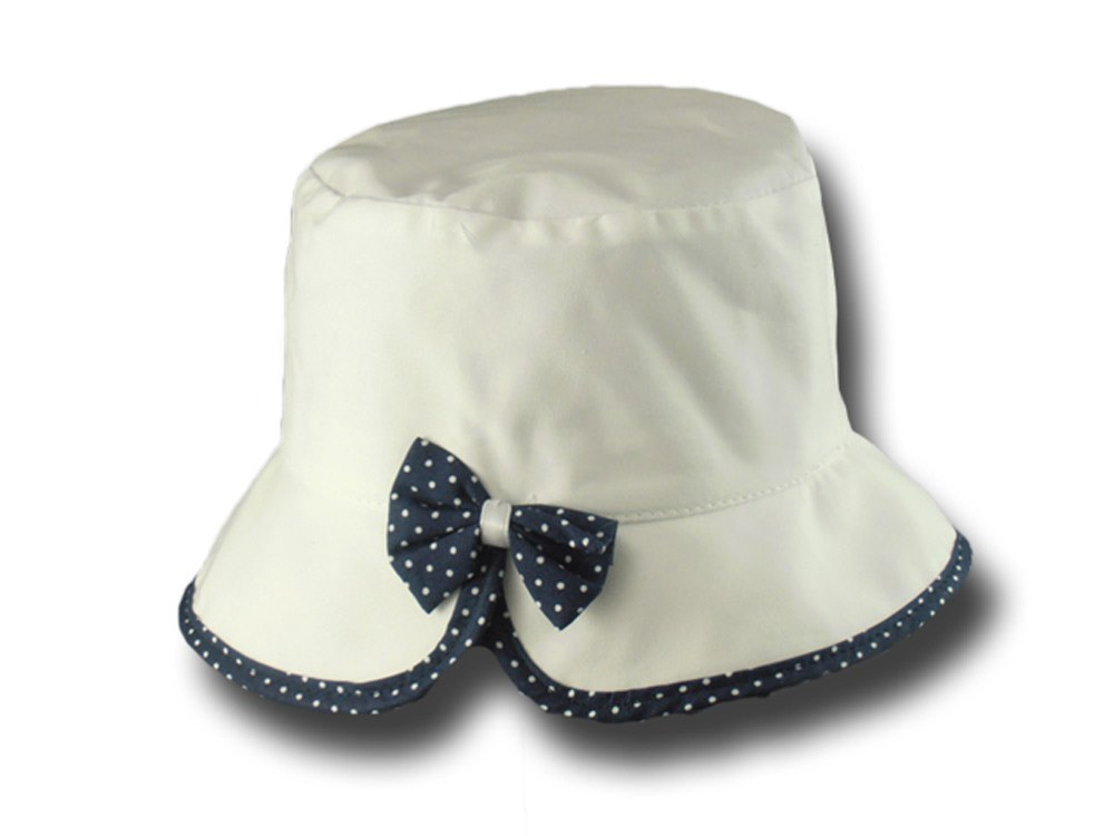 "Summer girl cotton hat ""Fiocchetto"""