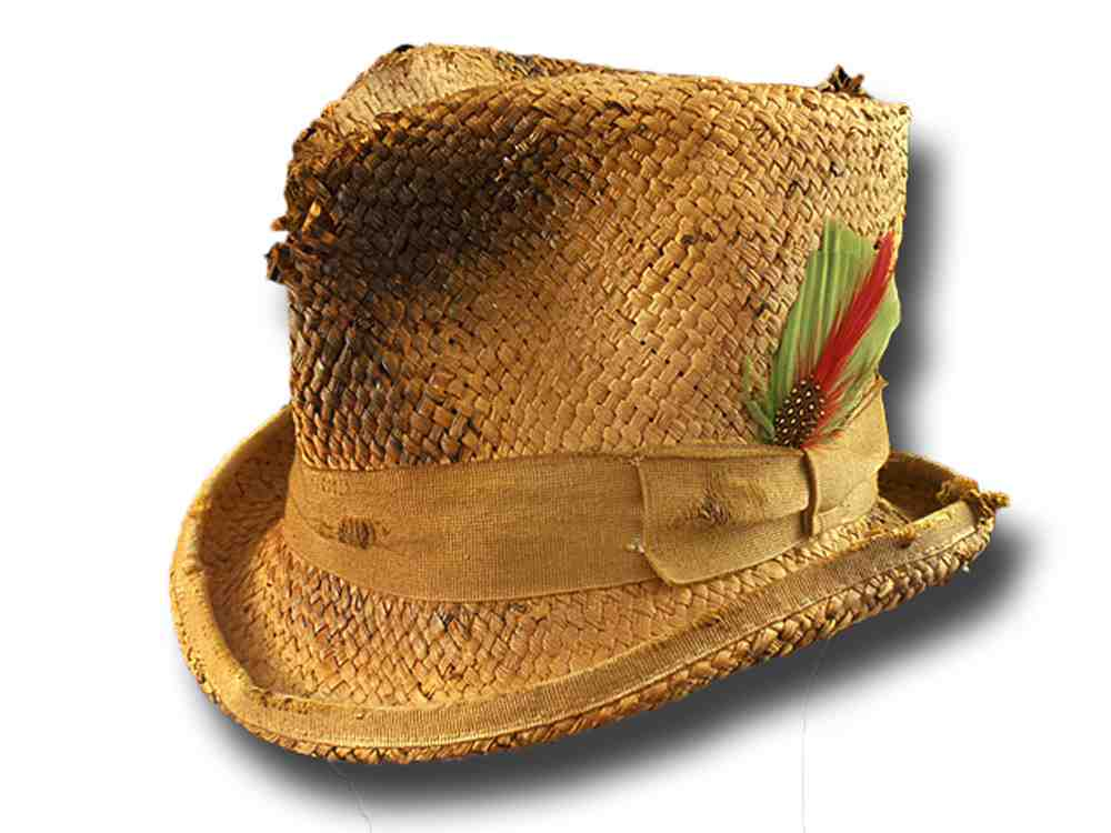 Corn straw Western Desperado Dusty top hat
