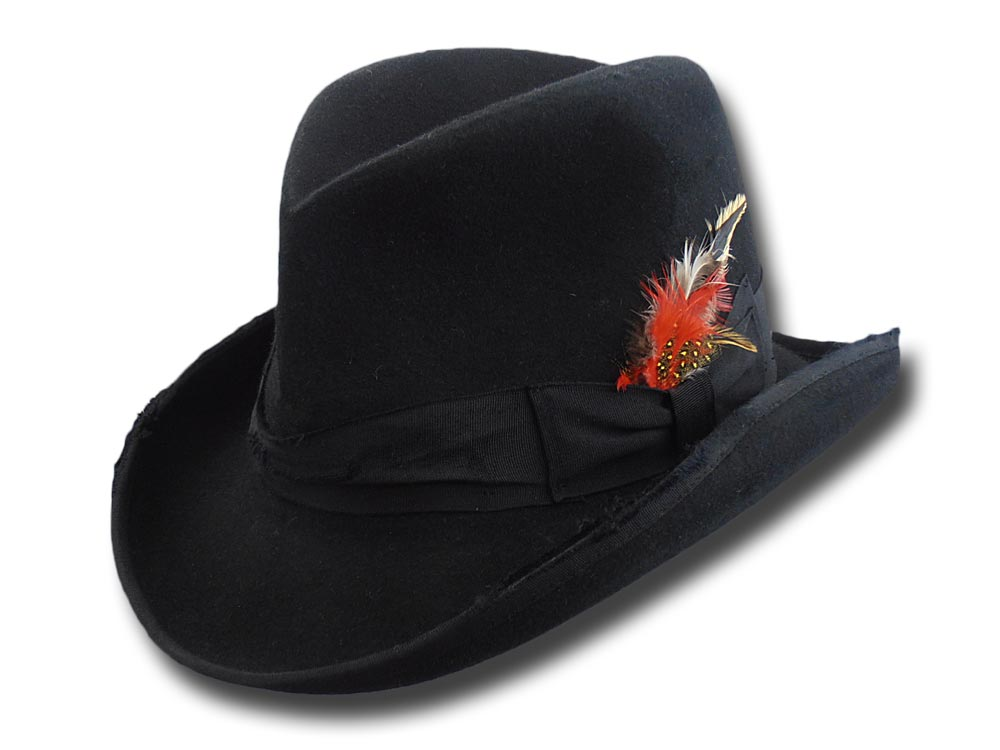 Homburg wool Stone hat