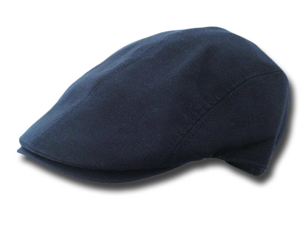 Melegari Summer linen Duck cap Cliff