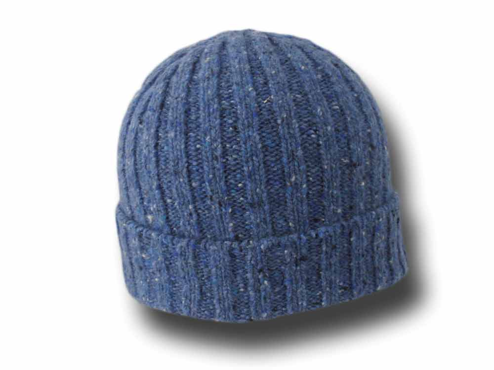 Irelandseye unisex mélange Irish wool ribbed