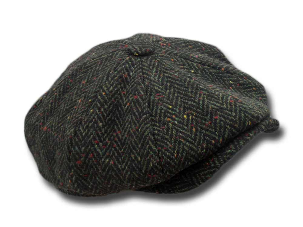 eda36ea066d Hatman of Ireland Scholar Harris tweed Cap