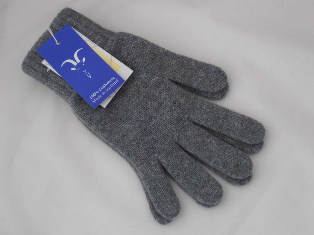Woman cashmere knit gloves Scozia