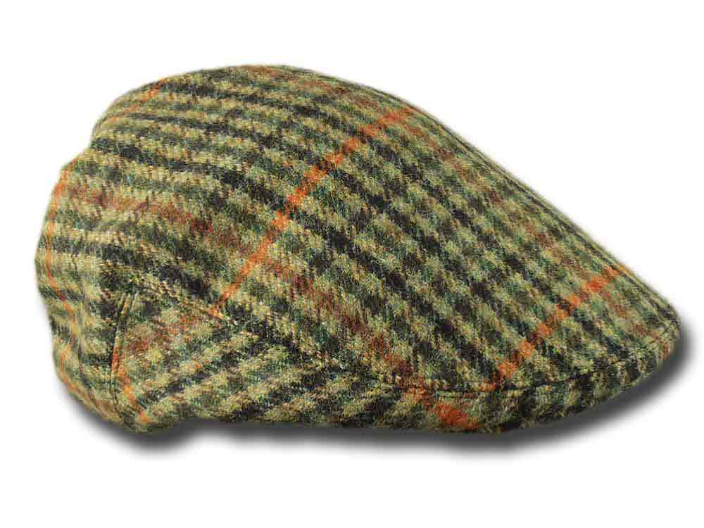 Berretto tweed Inglese Lawrence & Foster Garfo