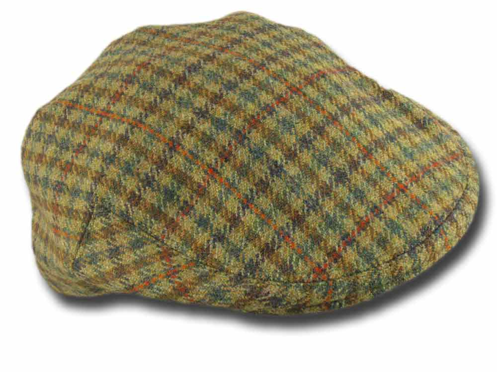 Lock & Co. Fairway Gill flatcap Grün