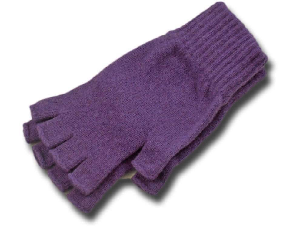 Melegari Wool gloves half finger Scozia