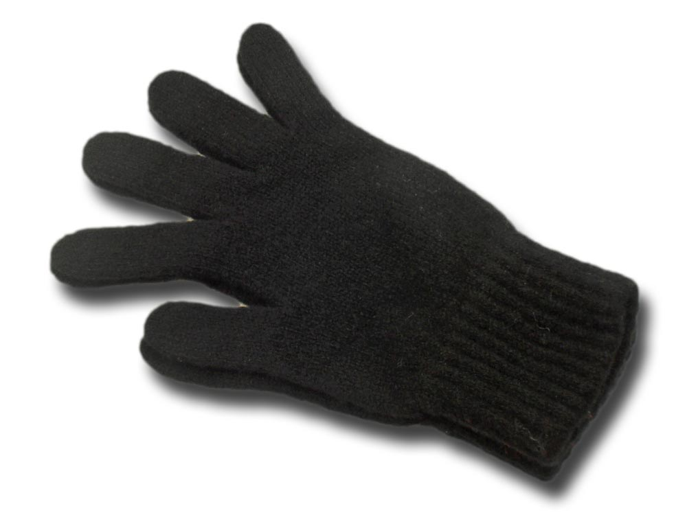 Melegari man wool gloves Scozia