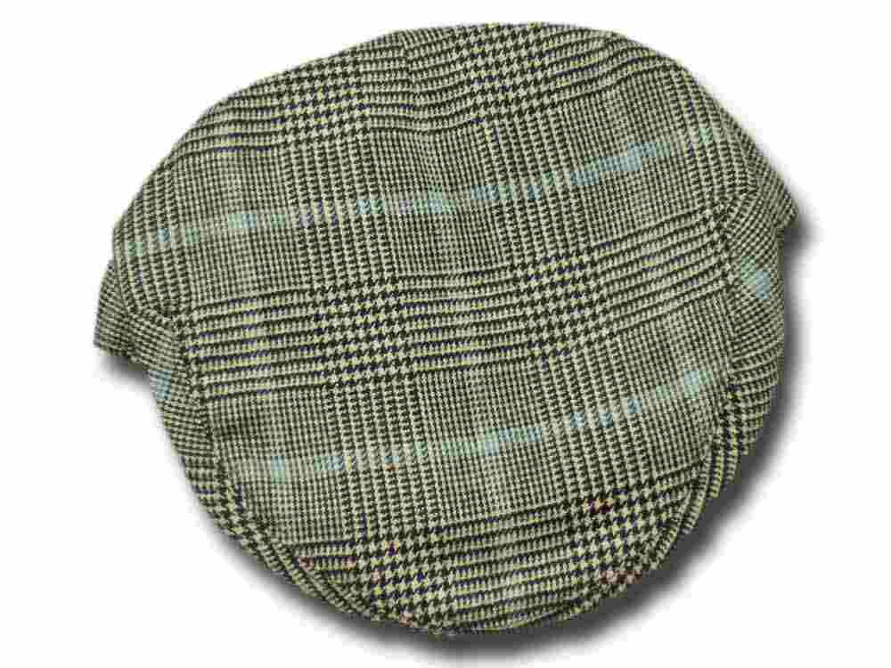 Casquette plat en cashmere Fairway Edinburgh Lock & Co.
