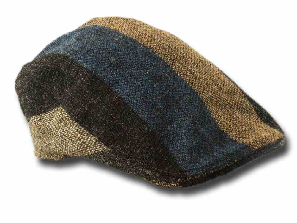 Touring 4 gestreifte Patch Flatcap Hanna Hats