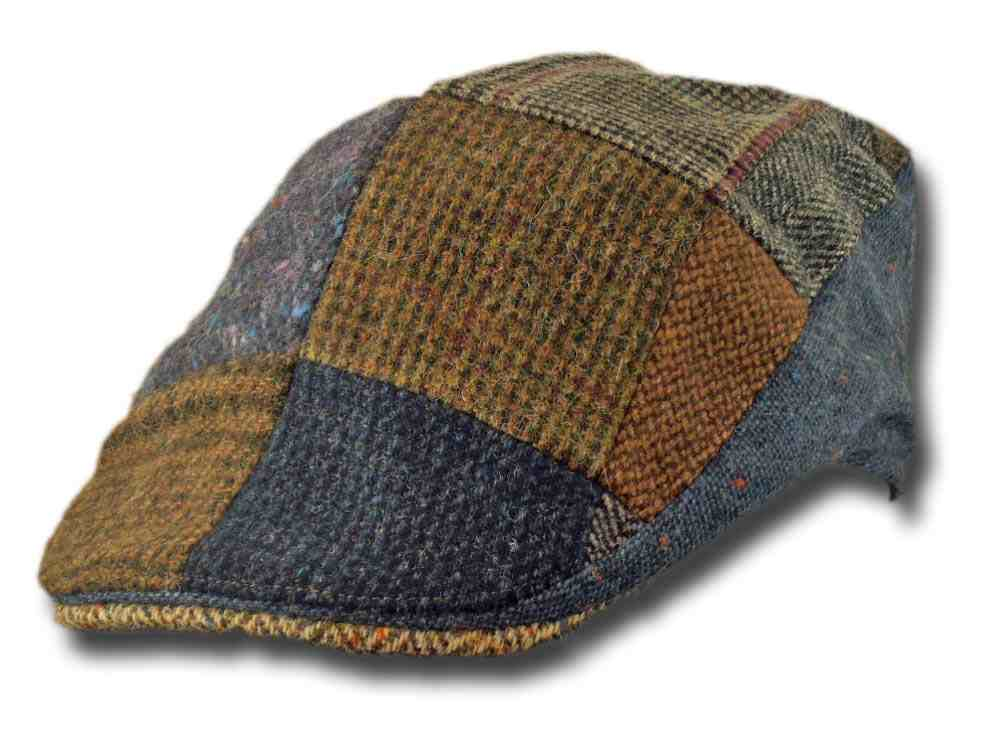Hanna Hats Berretto piatto irlandese Touring toning patch