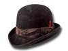 Clochard antique Western Bowler hat