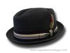 Cappello estivo Pork Pie Jazz Memphis Hat