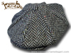 Berretto irlandese a 8 spicchi Hanna Hats Gatsby tweed