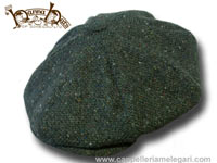 Berretto irlandese a 8 spicchi Hanna Hats Gatsby tweed Cap