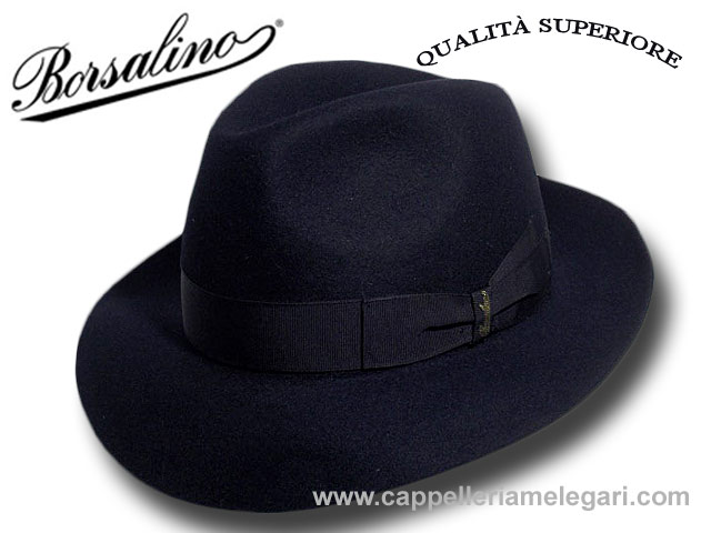 c6ac81637bae7 Borsalino Fedora hat Superior Quality brim 6 c