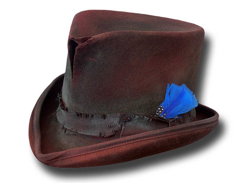 Cappello a cilindro Western Dusty Top Hat Bord