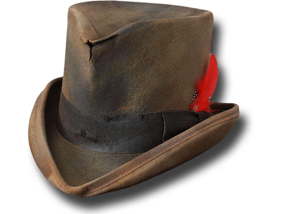 Cappello a cilindro Western Dusty Top Hat kaki