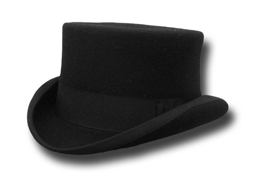 Western Half Top Hat Stagecoach Black