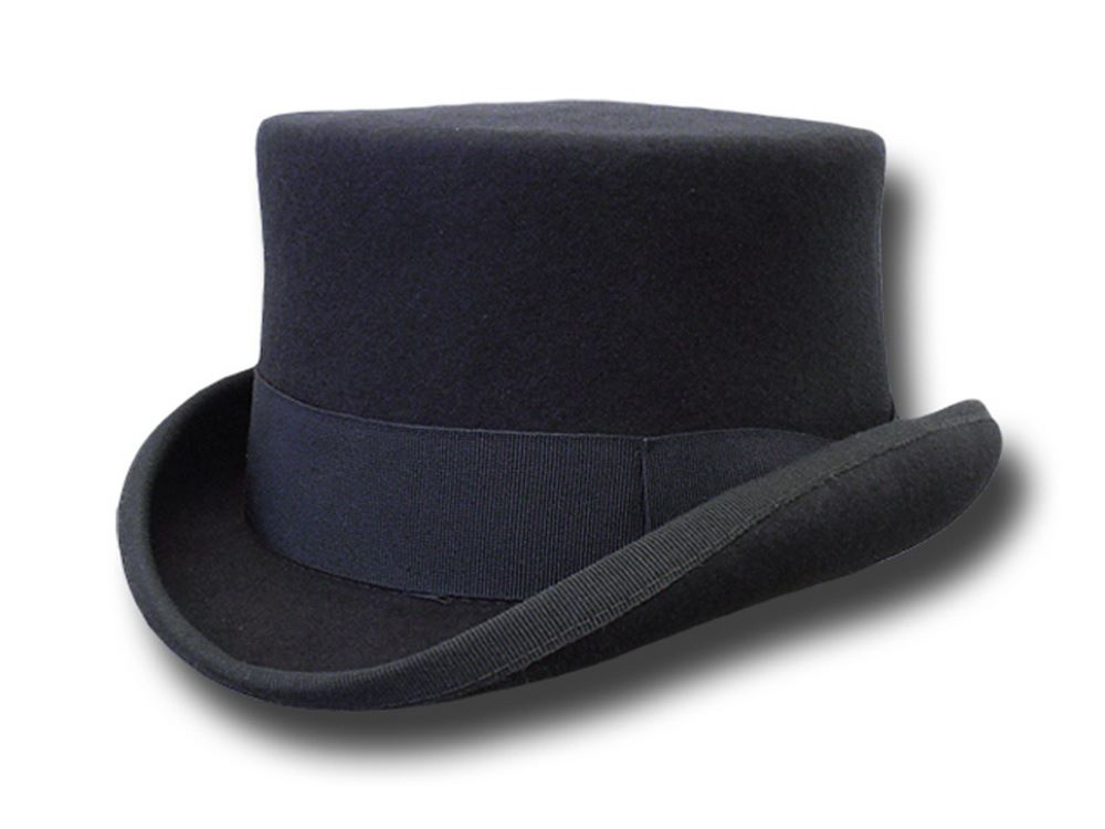 Western Half Top Hat Stagecoach Dark Grey